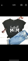 Football t-shirt | Football mom | Women's | Sports clothing, hats & accessories. - Stacy's Pink Martini Boutique