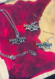Earrings, Necklaces { Basketball mom } Silver. 2 necklaces left. 3 earrings left! $5 jewelry sale! - Stacy's Pink Martini Boutique