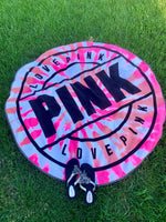 Towel • Wall decor • Bedding { Pink } 2 colors • Round • I have 1 pink for $10 sale! - Stacy's Pink Martini Boutique
