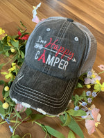 Basketball hats! Basketball mom | Customize | Embroidered distressed gray women's trucker caps • Add names, number, BLING! - Stacy's Pink Martini Boutique