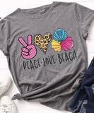 T-shirts { Peace • Love • Coffee } Nursing • Jeep • Music • Donuts - Stacy's Pink Martini Boutique