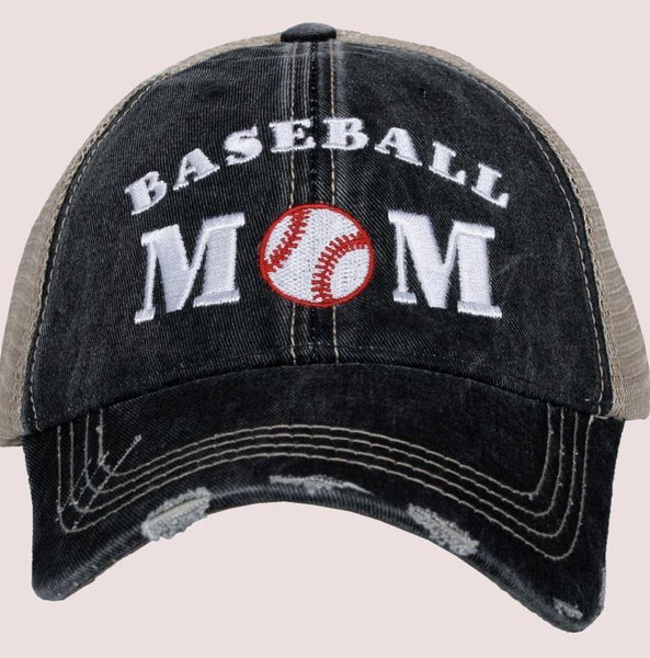 Baseball hat • Baseball mom - Stacy's Pink Martini Boutique