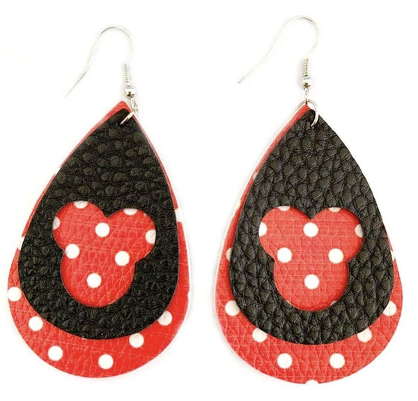 Earrings • Minnie Mouse • Mickey Mouse • Disney - Stacy's Pink Martini Boutique