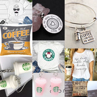 Shirts, jewelry, pillowcases { Coffee } - Stacy's Pink Martini Boutique