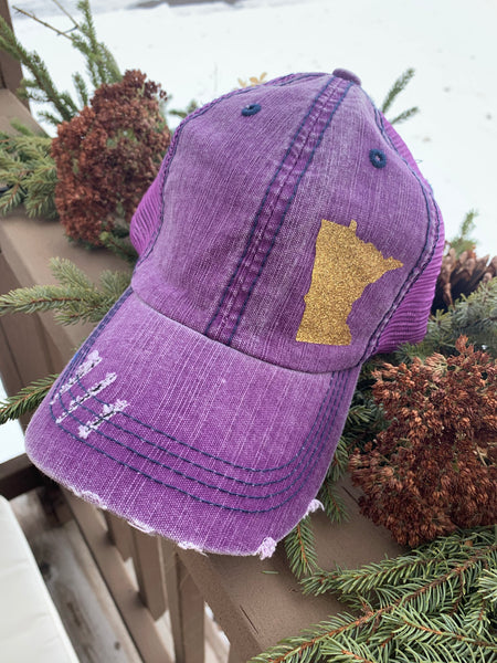 Hat { Mn } 32 • Paddles • Richardson snapback • Embroidered patch • Sota Clothing Co • Augsburg - Stacy's Pink Martini Boutique