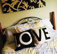 Pillowcases { LOVE } Set of 2. $10 - Stacy's Pink Martini Boutique