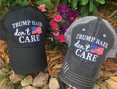 Hat { Trump & Hillary } - Stacy's Pink Martini Boutique
