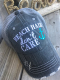 Hats and tanks { BEACH hair don't care } Pink, teal or coral ANCHOR. OR Pink, teal, coral or yellow SHELL.