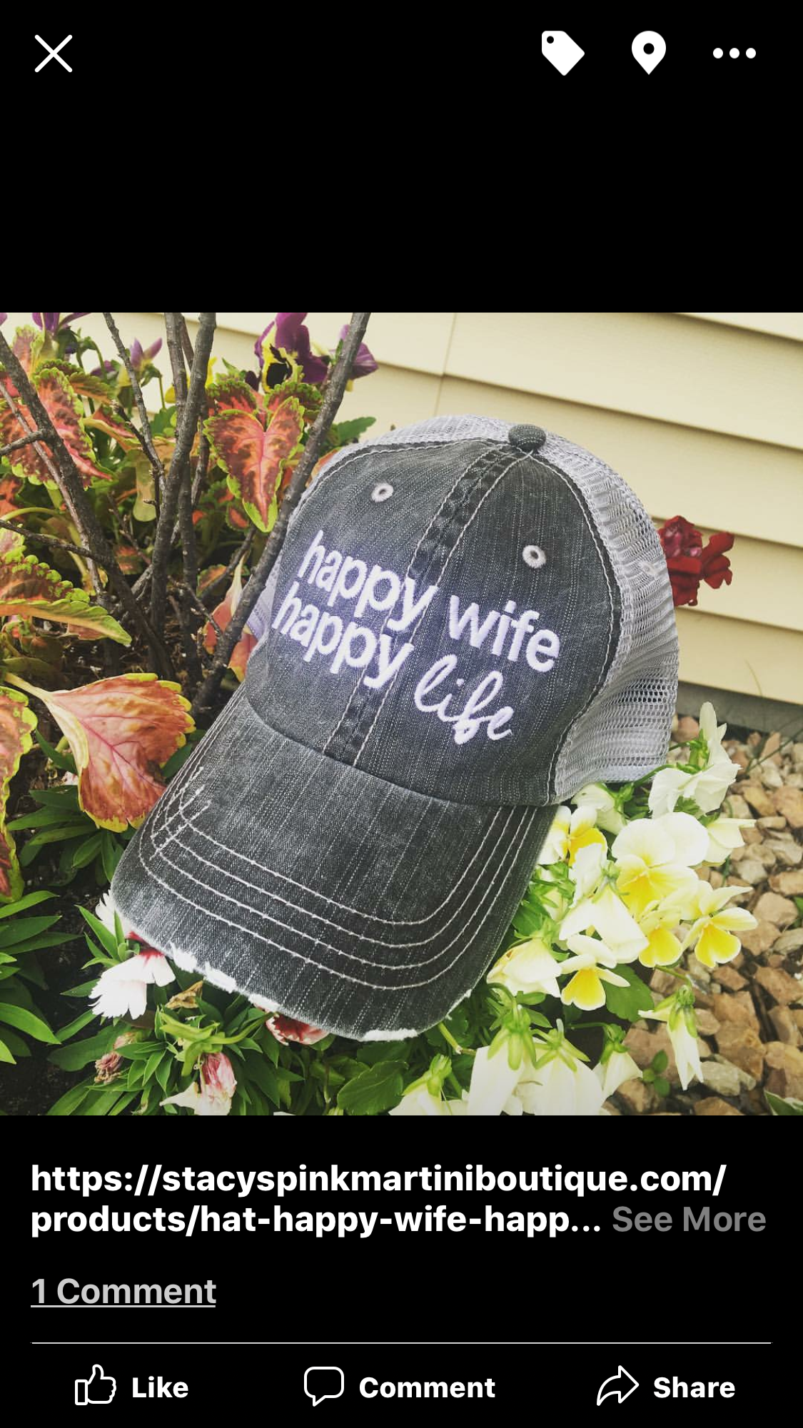 Hats Tanks And Shirts Happy Wife Happy Life Stacy S