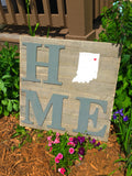 Home or lake pallet art. You choose state or lake. - Stacy's Pink Martini Boutique