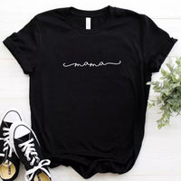 Mama t-shirt | Black or white | S - XXL | $10 TEES - Stacy's Pink Martini Boutique