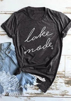 Tank top and T-shirts { Lake mode } Lake clothing. - Stacy's Pink Martini Boutique