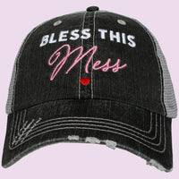 Blessed hats and T-shirts! Blessed hot mess • Too blessed to stress - Stacy's Pink Martini Boutique