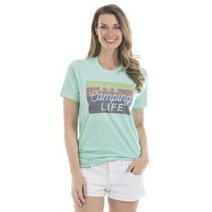 Camping life T-shirts •• Purple, peach, gray, green and brown •• S - XXL •• Camp shirts - Stacy's Pink Martini Boutique