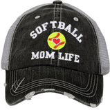 Hats and jewelry { Softball mom } See all styles! Customize by adding players names and numbers! - Stacy's Pink Martini Boutique