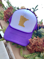 Hat { Sota } Minnesota Vikings. Purple and gold •  Adjustable snapback • Unisex $15 - Stacy's Pink Martini Boutique