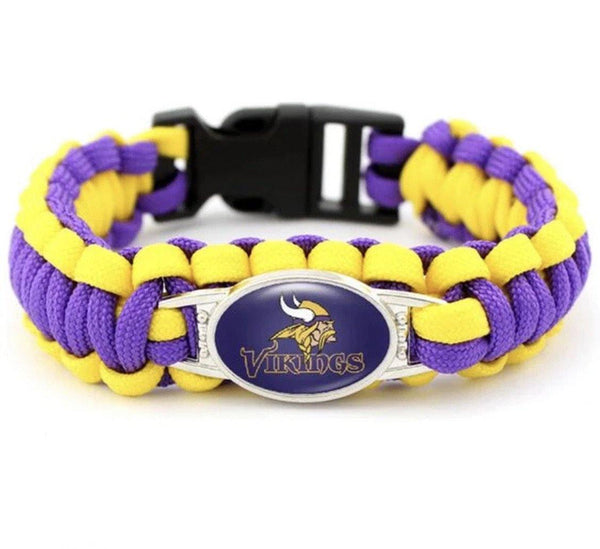 Bracelets { Sports } Vikings football • Wild hockey • Timberwolves basketball - Stacy's Pink Martini Boutique