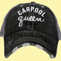 Hats • Carpool Queen - Stacy's Pink Martini Boutique