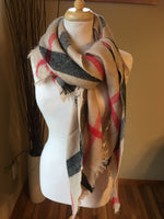 { Blanket scarf } Assorted colors. The 1/2 blanket scarf for those of you who don't like the large one.