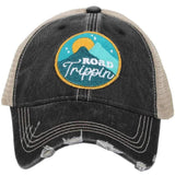 Road trippin' | Trucker caps | Teal or black - Stacy's Pink Martini Boutique