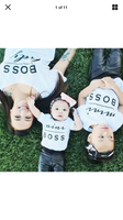 Shirts { Boss } Lady boss, mini boss, man boss, baby boss.