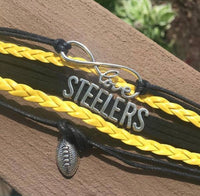 Jewelry { Minnesota Vikings } { Green Bay Packers } { Bears } { Steelers } All teams. Football. Love. Infinity. { Atlanta Falcons } - Stacy's Pink Martini Boutique
