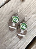 Green Bay Packers | Football jewelry | Necklaces | Earrings | Bracelets | Keychains - Stacy's Pink Martini Boutique