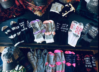 Socks { If you can read this bring me chocolate } - Stacy's Pink Martini Boutique