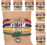 Autism Awareness bracelets and necklaces. - Stacy's Pink Martini Boutique