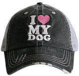 Hats and shirts { Hold my drink I gotta pet this dog } Customize by choosing hat options & clothing options. - Stacy's Pink Martini Boutique