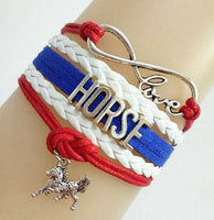 Bracelets { Horse } Assorted colors! - Stacy's Pink Martini Boutique
