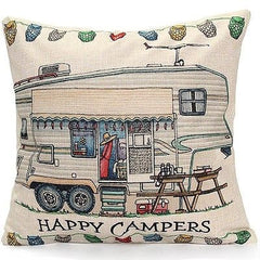 Pillow or pillow case { Camping } Assorted styles! Happy Campers! See my hats and tanks too!