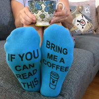 Socks! Wine, beer, coffee, chocolate, kisses! If you can read this bring me....