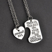 Necklace & Keychain sets { There is this girl she stole my heart she calls me.... }