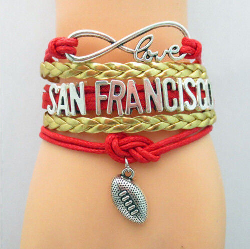 Bracelet {San Francisco 49ers} Football