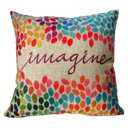Pillow {Imagine} - Stacy's Pink Martini Boutique