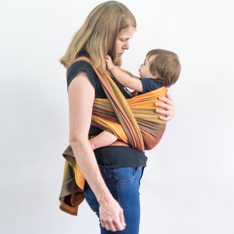 Image of Radha  Handwoven Baby Wrap