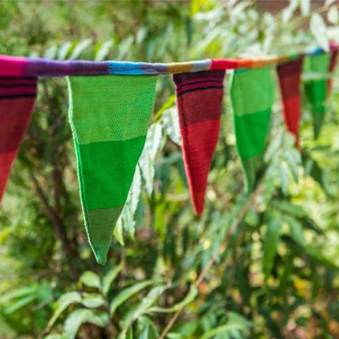 Image of Bunting - Rainbow