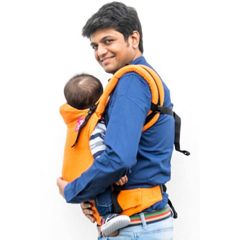 Anmol Basic Orange handwoven SSC Baby Carrier