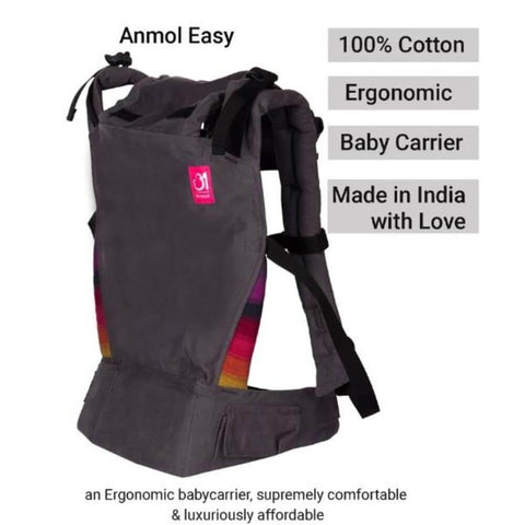 Image of Anmol Easy Grey Baby Carrier