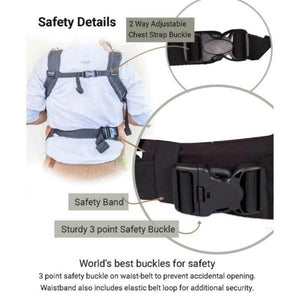 Anmol Easy Grey Baby Carrier