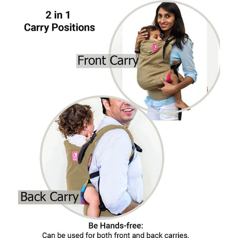 Image of Anmol Easy Khaki Baby Carrier