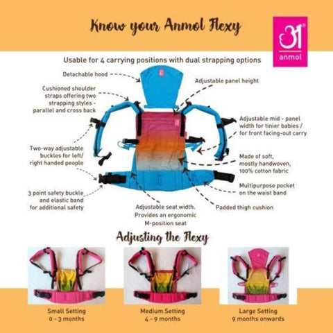 Flexy Shravya + Lumbar Support + Droolers