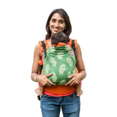 Hasti Orange Semi WCSSC Baby Carrier