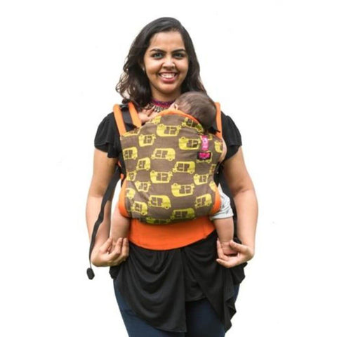 Image of Rickshaw Orange Semi WCSSC Baby Carrier