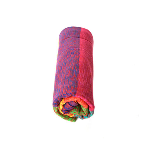Image of Saharsh Red Weft Blanket