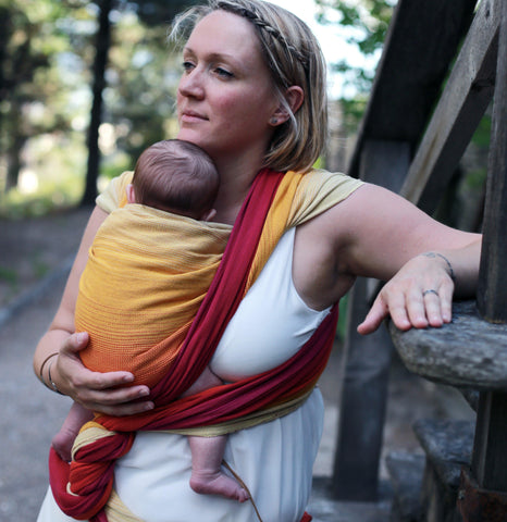 Image of Satvik Handwoven Baby Wrap
