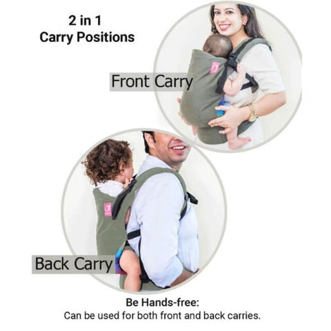 Image of Anmol Easy Olive Baby Carrier
