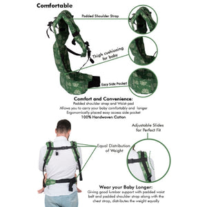 Padma Full WCSSC Baby Carrier