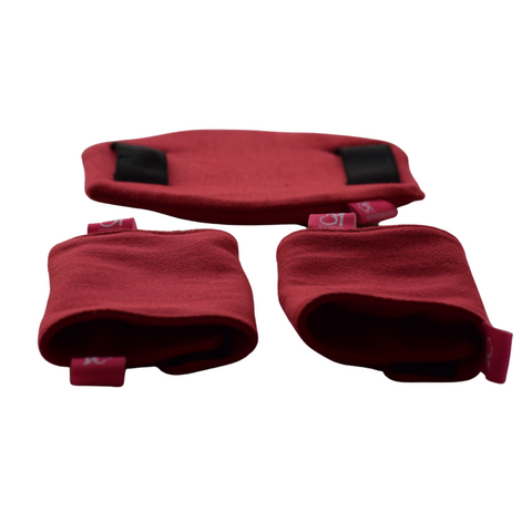 Deep Red Flexy+Lumbar Support+Droolers